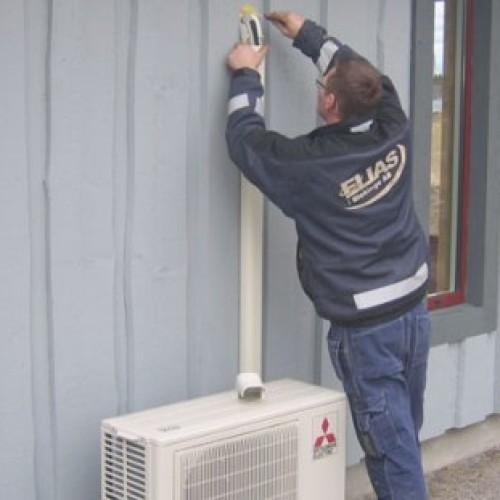 Nye regler for installasjon av varmepumpe