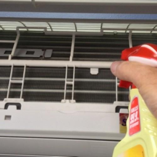 Varmepumpen må rengjøres